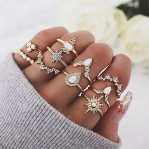 Jewelry - GODDESS ♡ 10 RINGS SET